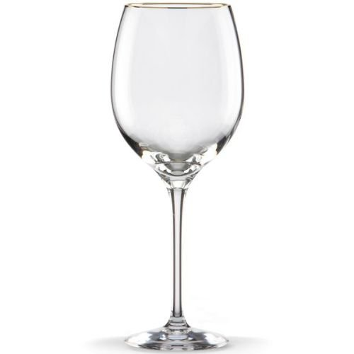 Eternal Fine Dinnerware (Lenox Eternal Gold Signature Goblet, Clear)