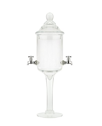 Glass Absinthe Fountain, 2 Spouts by Bonnecaze Absinthe & Home