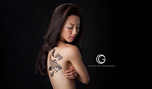 G Body Art Glitter Tattoo Fire Dragon Kit