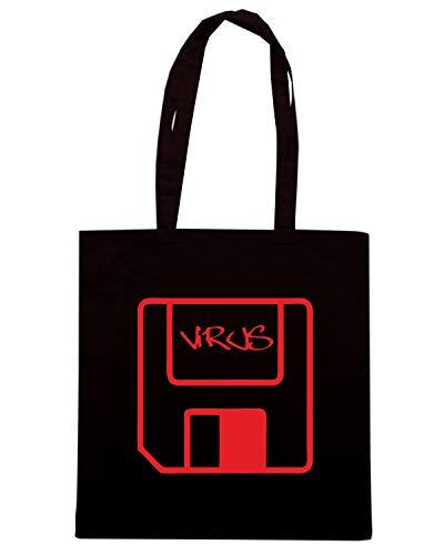 VIRUS Speed Shopper Borsa OLDENG00712 Shirt Nera 11qCw0X