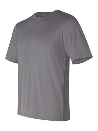 Champion Double Dry Tee, 2XL-Stone Gray