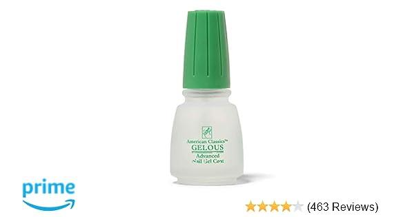 Amazon.com : American Classic Gelous Nail Gel Base Coat Nail Polish ...
