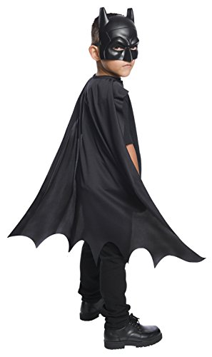 Rubie's Costume Boys DC Comics Batman Cape & Mask Set Costume, One Size