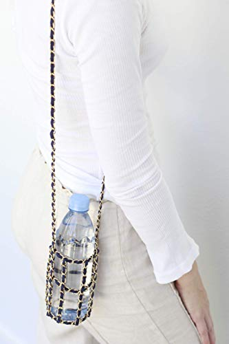 (Chain Style Bottle Holder - Standard Size, Many Colors)