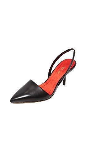 Diane von Furstenberg Women's Mortelle Slingback Pumps, Black, 9 M ()