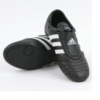 Competition Black Leather Shoes - 8