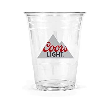 Amazon Com Coors Light Disposable Plastic Cups 10 Oz 50