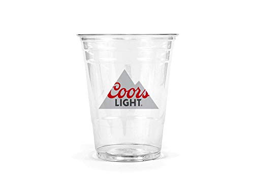 (Coors Light Disposable Plastic Cups 10 oz / 50)