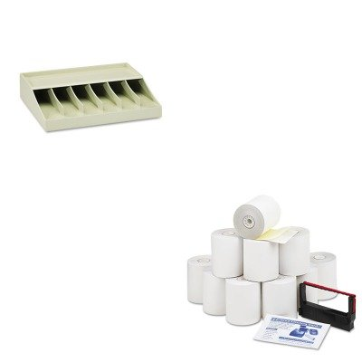 KITMMF210470089PMC09300 - Value Kit - Pm Company Paper Rolls (PMC09300) and MMF Bill Strap Rack (MMF210470089)