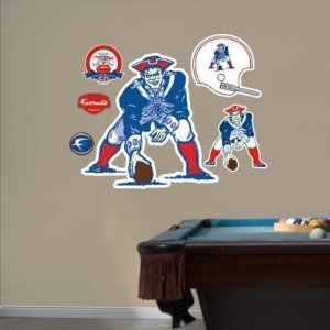 Boston Patriots Original AFL Logo Fathead®