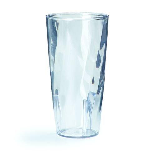 9 Ounce Swirl Clear Polycarbonate Tumbler - 1 each