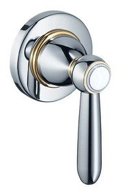 Hansgrohe 17975830 Axor Carlton Trim, Volume Control with Lever Handle, Polished