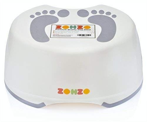 Zohzo Step Stool For Kids - Childrens Step Stool For Baby and Toddlers - Lightweight & Easy To Clean Plastic Children Step Stool | Ideal For Potty Training, Hand Washing, Teeth Brushing