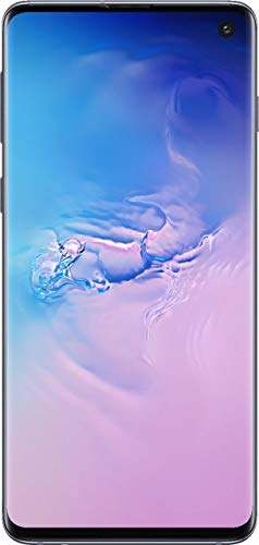 Samsung Galaxy Cellphone - S10 AT&T Factory Unlock (Prism Blue, 512GB) (Renewed)