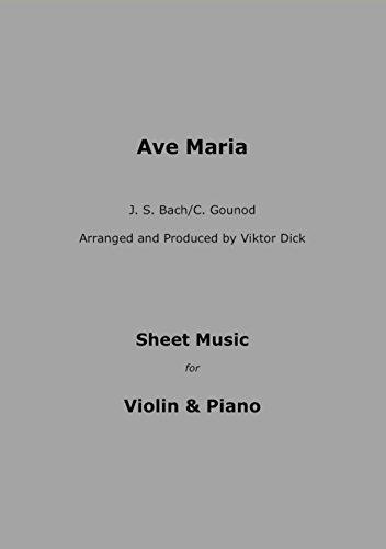 Ave Maria Bach Sheet Music - 9