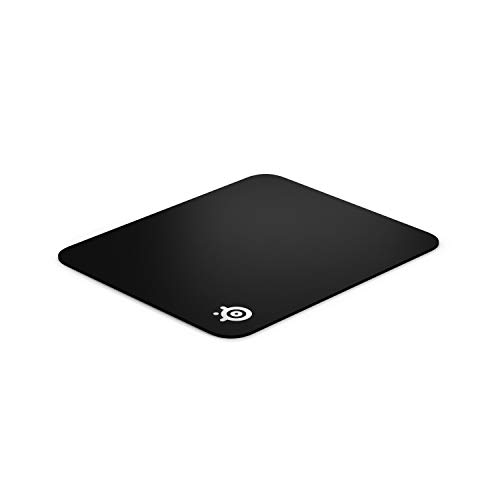 SteelSeries QcK Gaming Surface - Medium Hard - Minimal Friction - Pinpoint Accuracy, Black