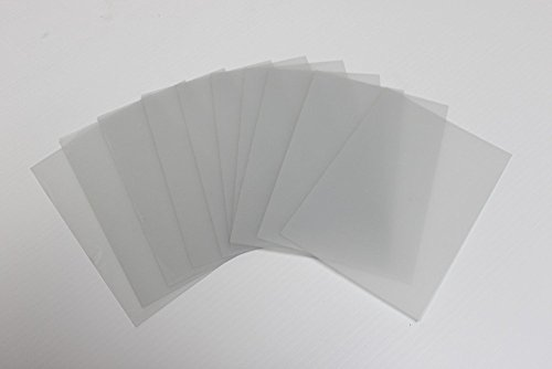 Acrylic Film - 10 Sheets 5x7 .040 PETG, Clear Styrene/Plexiglass