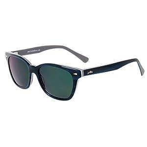 Aloha Eyewear Tek Spex 1010 Unisex Digital Progressive Bifocal NO LINE Reader Sunglasses (Blue w/ Gray +2.00)
