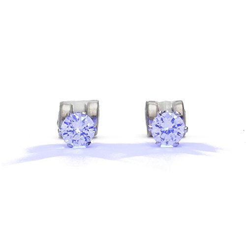 Flashing Night Ice LED Earrings (Blue)