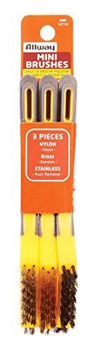 Mini Wire Brush Asst 3pc