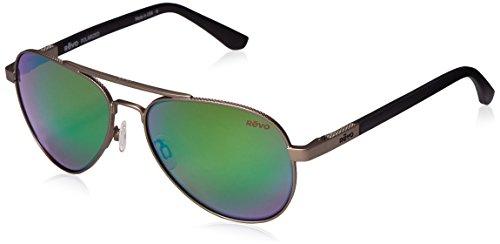 revo-raconteur-re-1011-00-gn-polarized-aviator-sunglasses-gun-58-mm