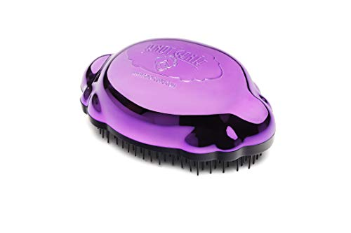 Knot Genie Teeny Detangling Brush, Peaceful Purple