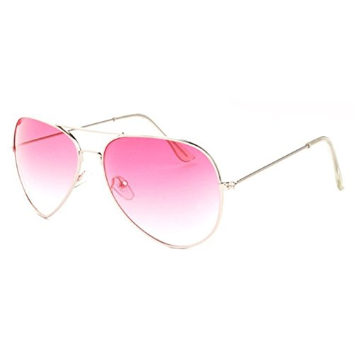 Sinkfish SG80010 Gift Sunglasses for Women,Leisure - UV400/Oldlace Frames/Hotpink - Bolle Closeout Sunglasses