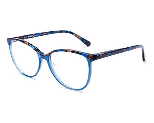 (Etnia Barcelona Women's Eyeglasses Lima BLBZ Blue/Bronze Optical Frame 53mm)