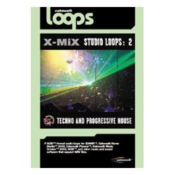 (CAKEWALK X-MiX Studio Loops 2: Techno & Progressive House ( Windows/Macintosh)