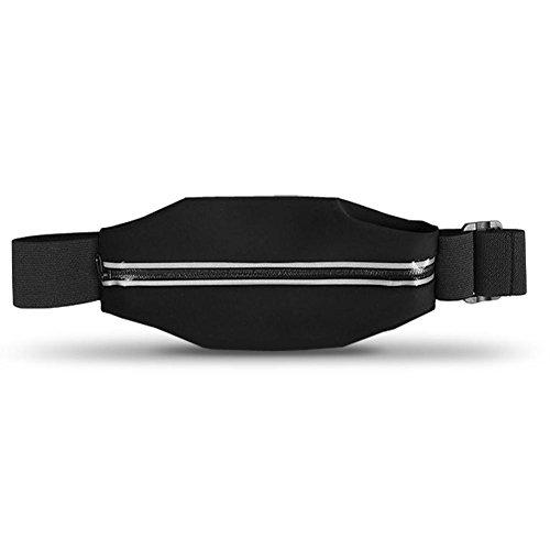 Apple iPhone 6s / 6 Tasche Hülle Schwarz Jogging Fitnesstasche Bauchtasche Case