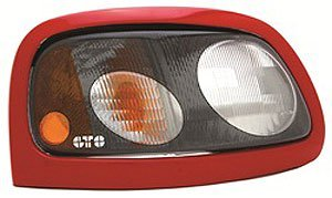 GT Styling 963185 Pro-Beam Headlight Cover Carbon Fiber Pro-Beam Headlight (Headlight Covers Probeam Carbon Fiber)