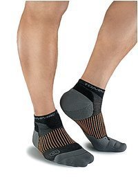 Tommie Copper Black Ankle Compression
