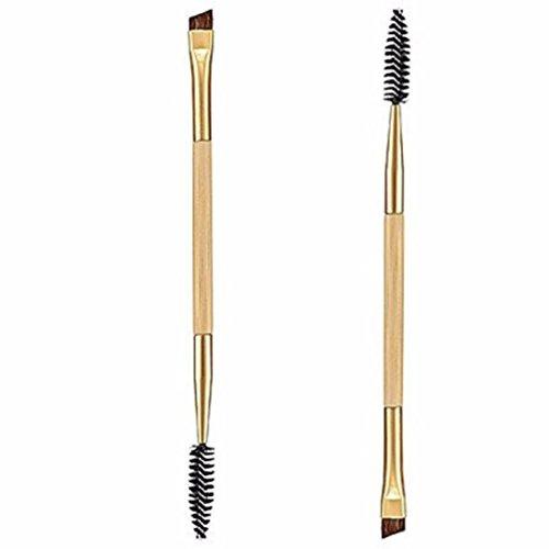 1 X Tool Double Handle Makeup Eyebrow Comb Eyebrow Brush - 9