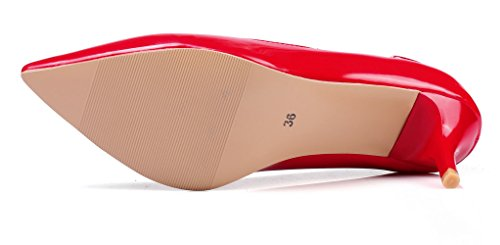 Escarpins KingRover Red Pour Femme 6cm Hqw4qpT