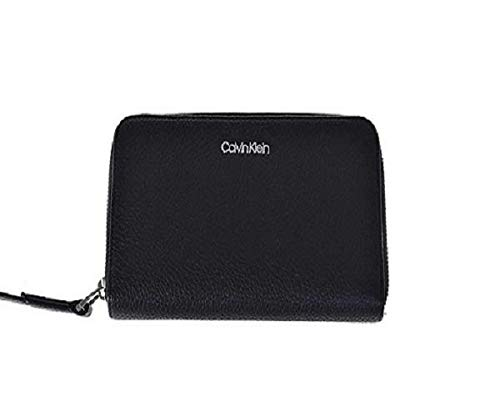 Calvin Klein Ck Base Large Zip Around Xl - Carteras Mujer