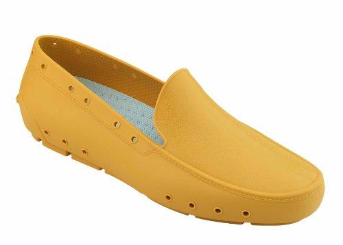 Moc Lady - Calzado de uso profesional WOCK - Esterilizable; Antiestático; Antideslizante; Absorción de Impactos Amarillo