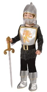 Brave knight Child Costume Size 1T-2T (Brave Knight Toddler Costumes)