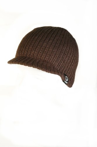 Chaos Hats Men's Jackson Acrylic Beanie (Brown, One Size)