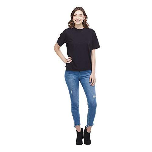 (Mud Pie Women's Ollie T-Shirt Black (Large) )