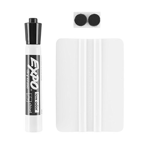 Think Board Premium Whiteboard Film, Peel and Stick, X-Large, White by Think Board (Image #3)'