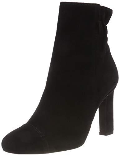 Noir Effect Dress Femme 101 Bianco Bottines Boot Black 4fnRqR