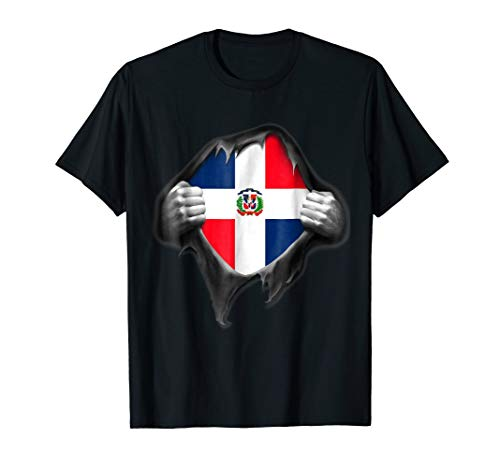 - Dominican Republic Flag Shirt. Proud Dominican