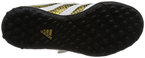 adidas Ace 16.4 Tf J H&l, Botas de Fútbol para Niños Blanco (Ftwbla / Negbas / Dormet)