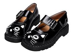 Donne T2025 Del Scarpe Uk Tuk donne 6 4 Jane Us In 37 Gattino Anarchiche Pelle Eu Ragazza Nera Mary Tuk d5qff1