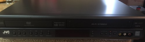 JVC HR-XVC18BU Progressive Scan DVD/VCR Video Cassette Recorder VHS Combo Player