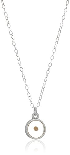 Bob Siemon Sterling Silver Mustard Seed Necklace, 18.5