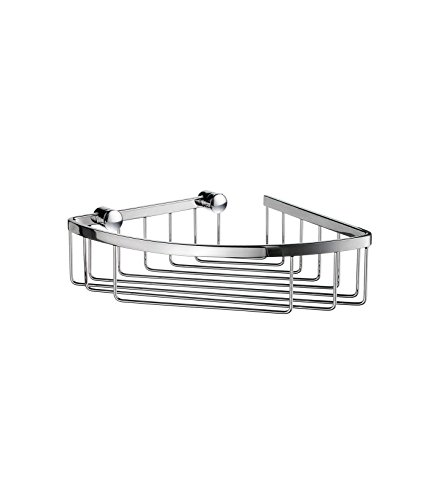 Smedbo SME DK2021 Corner Soap Basket, Polished Chrome, - Soap Dish Smedbo