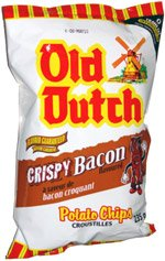 Old Dutch Crispy Bacon Flavoured Potato Chips 255g {Imported from Canada} - Dutch Potatoes