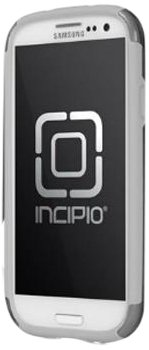 Incipio Silicrylic Hybrid Case - Incipio SA-311 Silicrylic Shine for Samsung Galaxy S III - Retail Packaging - Silver/Gray