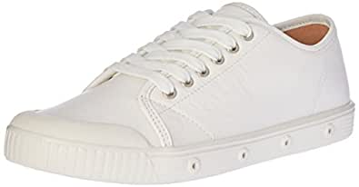 Spring Court Women's  G2S-5001 Nappa Leather Trainers, White, 36 EU